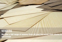Veneers / We carry a number of special wood veneer products from stocks in Asia and Europe.
