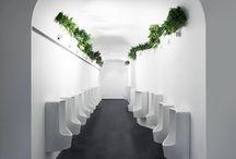 Public toilets design