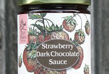 Dessert Sauces / Our dessert sauces are the perfect accompaniment when served over ice cream, sorbet, cheesecake, fresh fruit, or eaten right out of the jar with a spoon. Made with fresh fruit, organic dark cocoa powder and organic cane sugar, these sauces are pure, decadent, and delicious.