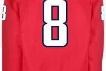 Washington Capitals - Official NHL Hockey Jerseys / We are the leading manufacturer of professional sports lettering & numbering and we have been selling officially licensed NHL jerseys and apparel via the internet since 1999. Visit: CoolHockey.com for more!