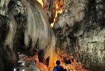 Mağaralar..