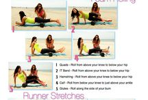 Stretching / Post and pre-workout stretches