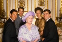 Archive Photos Of The English Royal Family