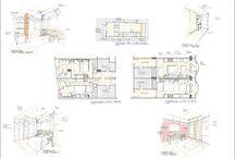 EdsonEspíndola-CROQUIS / Desenhos feitos à mão, seja para ilustrar Estudos, ou para dar soluções a problemas construtiivos