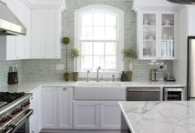 Wills Co. White Kitchens / The perfect space for a white color scheme