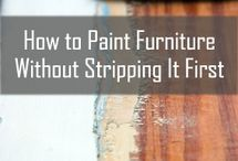 Painting furniture  / by Lyudmila Stewart