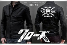 Crows Zero Jacket / A Place where you can find All Jackets from Crows Zero's Movies