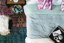 bohemian eclectic bedroom