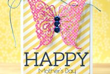 Mother's Day / Mother's Day card ideas and inspiration. Mother's Day card tutorials and more.