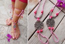 Footsie Sandals / Barefoot Sandals Design in istanbul :)