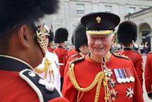 Ceremonial Guard - Canada / The Ceremonial Guard is one of Canada's most recognizable military units. For over 50 years the Changing of the Guard has been a top Ottawa attraction, having thrilled thousands of visitors on Parliament Hill, at Rideau Hall and at the National War Memorial.
