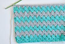 Crocheting & Pom poms