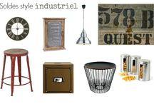 déco : Industriel - Fabrique / Trouvez les produits style industriel chez http://www.maginea.com/fr/fr/