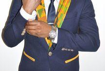 Men's suits and blazers