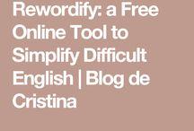 Rewordify: Simplify difficult English