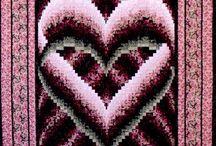 bargello heart quilt pattern freebargello