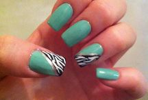 Nails art made by me