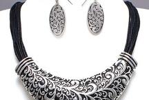 Scrolls Arty Style Jewelry