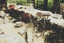 Table settings / by Lauren Hatcher