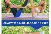 Yoga Pose Berdua