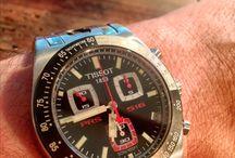 Montre Tissot prs 516 / Chrono vintage racing