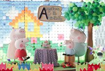 Peppa Pig Party Ideas / Children / by Lisa Narramore