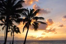 Sunsets in Hawaii / The best sunset beaches in Hawaii