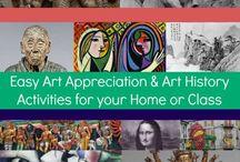 Art Appreciation For Kids / art appreciation for kids activities ,  art appreciation lesson plans ,  famous artists and art appreciation for kids learning