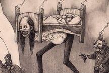 dibujo miedo