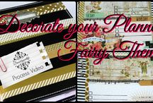 Planner Decorating Ideas