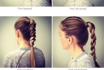 Hairstyles / Hair ideas for everyday wear...