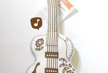 gitar yastık