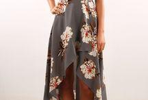 moda - vestido longo