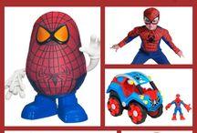 Jakey's Spider-Man toys