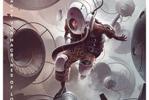 RPG - Sci-fi / Sci-fi World: characters, locations, weapons, robots, .....