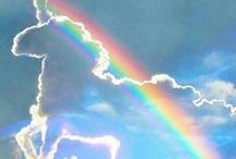 Licorne / arc en ciel