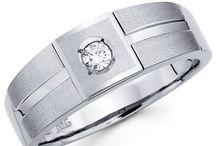 Men's Wedding Rings / Gorgeous wedding rings for your man!