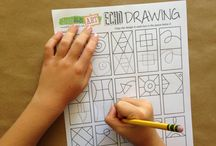 Drawing Exercises / Drawing excercises, duplication drawing worksheets
