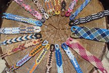Friendship wayuu bracelets / Macrame bracelets of cotton