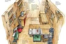 Werkplaats - inrichting / Ideeen voor het GriDD kantoor