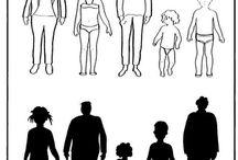 Οικογένεια - φύλλα εργασίας