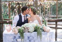 Bridal Table and Backdrops