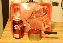 Pork / Dr Pepper pork chops