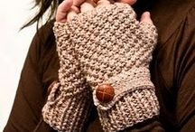 Knitting - Mitts