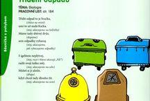 třídění odpadu a ekologie