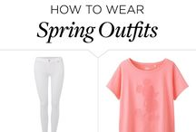 Spring + Summer outfits