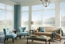 Window Coverings / Hunter Douglas Blinds add style and functionality to a room.