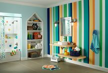 Kid's Rooms / Paint color inspiration to create the perfect space for your little, or not so little one.  / by BEHR Paint