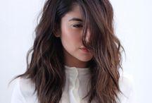 Волосы средней длинны