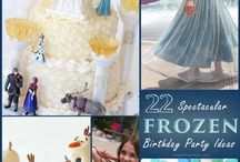 Frozen Party Ideas for the Princess